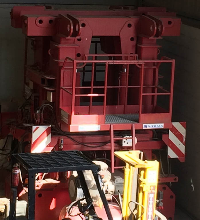 Nicolas 50T tower-adaptor_Ref. 160-5