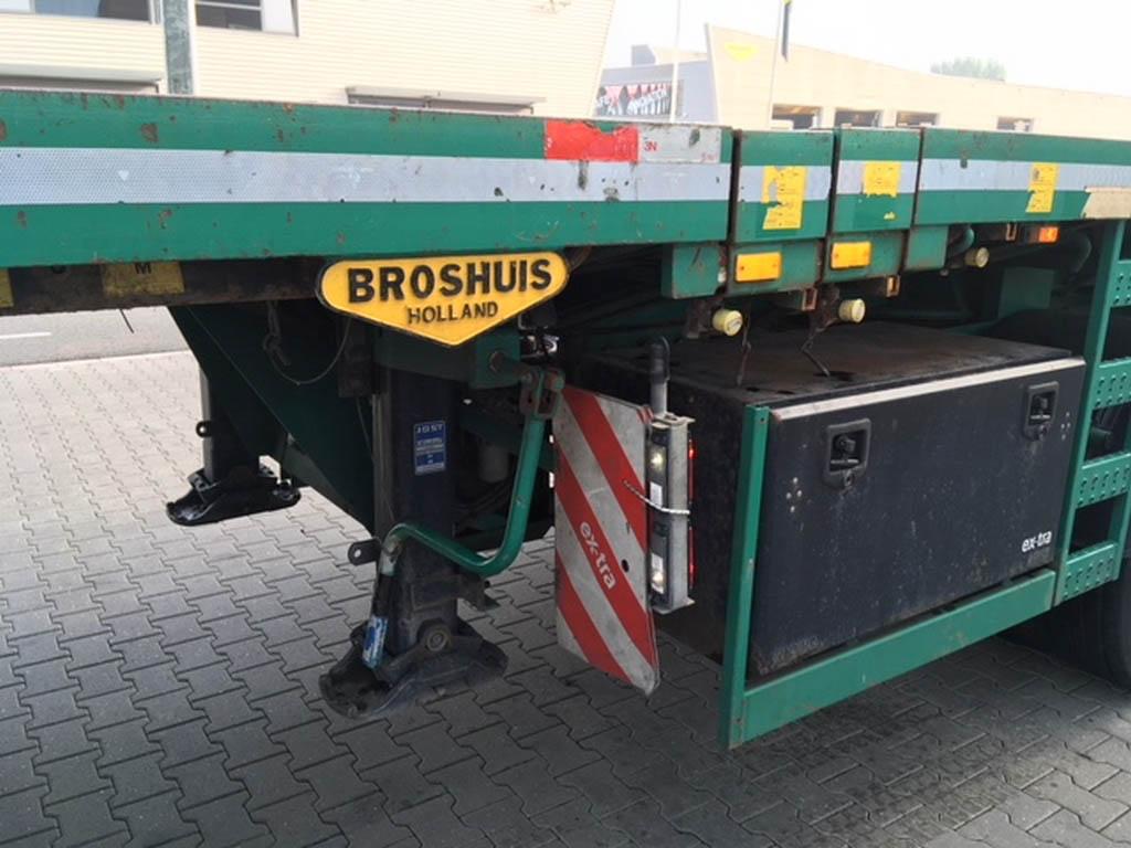 Broshuis 4AOU-58-3 Triple Trailer Ref. 186--5
